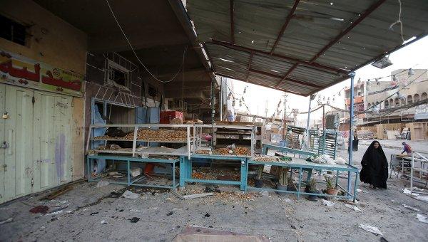 Последствия бомбардировки Алеппо