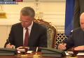 Подписание двусторонних документов между Украиной и НАТО