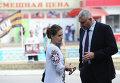 Адвокат Надежды Савченко Марк Фейгин и сестра Надежды Вера Савченко. Архивное фото