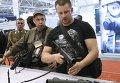 Открытие выставки Оружие и безопасность-2015