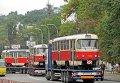 Чешские трамваи, закупленные киевскими властями