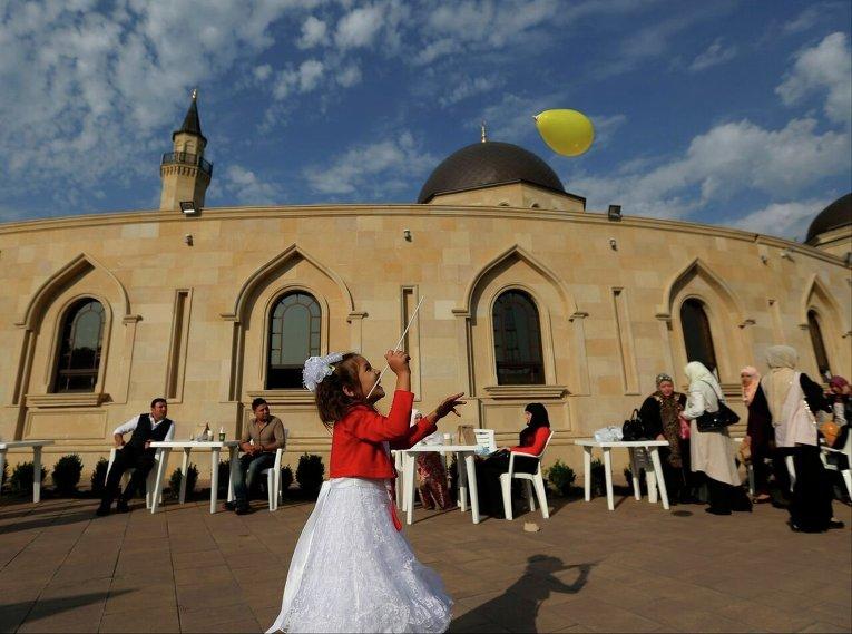 Празднование Курбан-байрама в Киеве