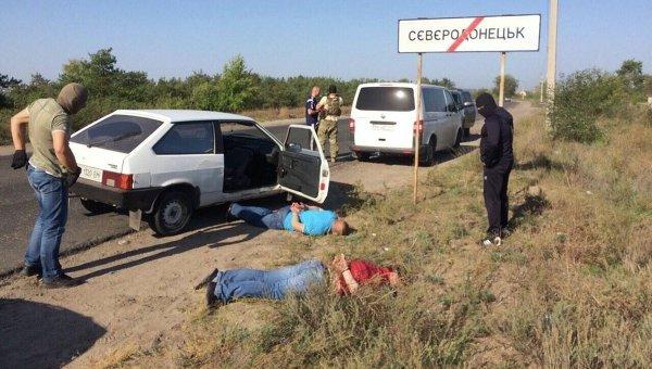 Задержание милиционеров