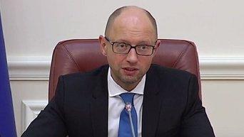 Арсений Яценюк о санкциях против российских авиакомпаниях