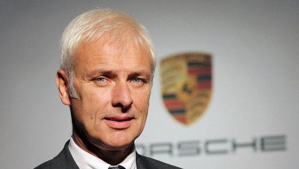 Новый генеральный директор немецкого концерна Volkswagen AG Маттиас Мюллер