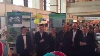 Москаль танцует в Ужгороде