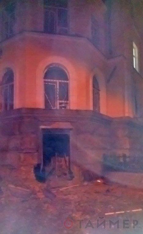 Подрыв здания УСБУ в Одессе