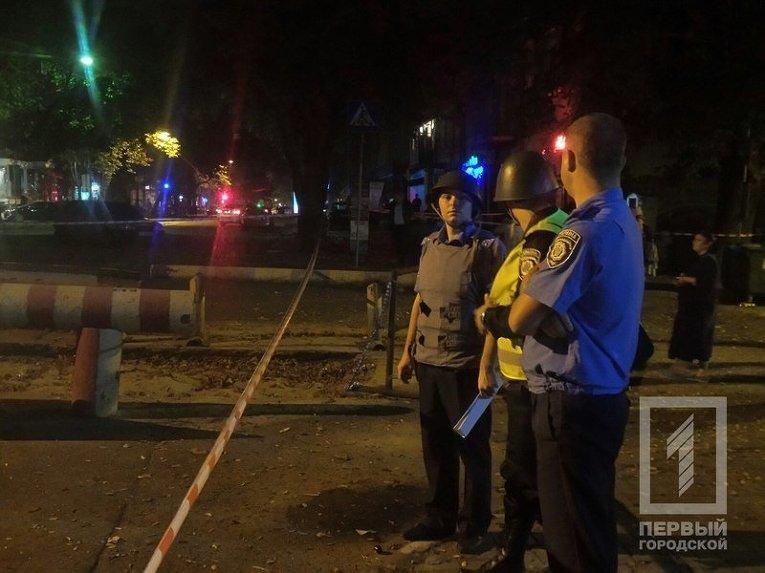 Последствия мощного взрыва в Одессе