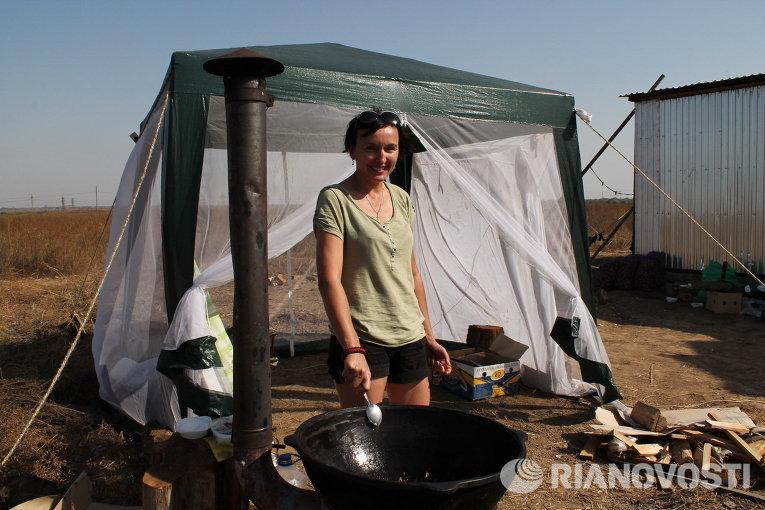 Галина Однорог представляет Автомайдан Мариуполя