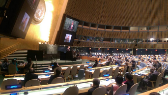 Петр Порошенко на Генассамблее ООН