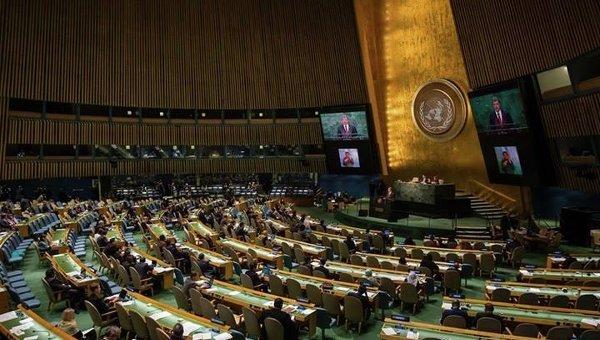 Петр Порошенко на Генассамблее ООН. Архивное фото