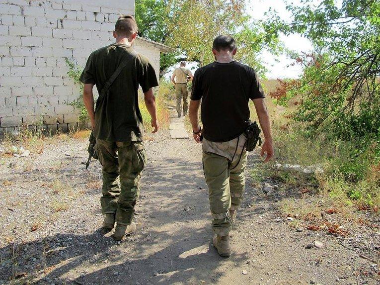 Оборонительная линия в Широкино