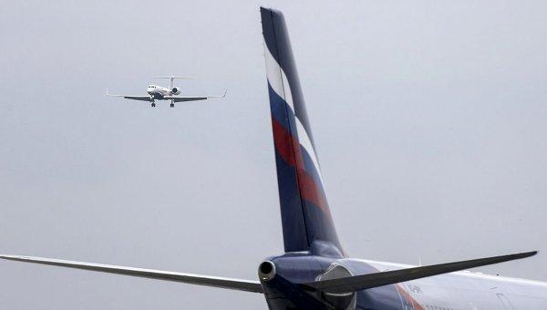 Самолет Аэрофлота. Архивное фото