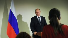 Президент РФ В.Путин принимает участие в 70-й сессии Генеральной Ассамблеи ООН
