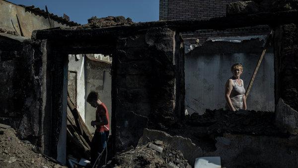 Жители Донецкой области. Архивное фото