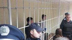 Россияне Евгений Ерофеев и Александр Александров в зале суда. Архивное фото