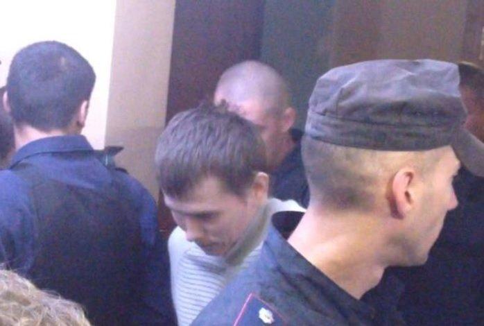 Гражданин России Александр Александров в зале Голосеевского райсуда Киева, 29 сентября 2015 г.