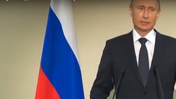 Путин: Я даже не заметил Порошенко в зале ООН и мне это не важно