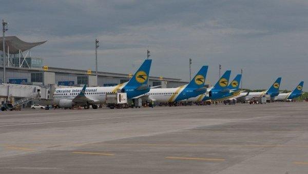 Самолеты авиакомпании Международные авиалинии Украины