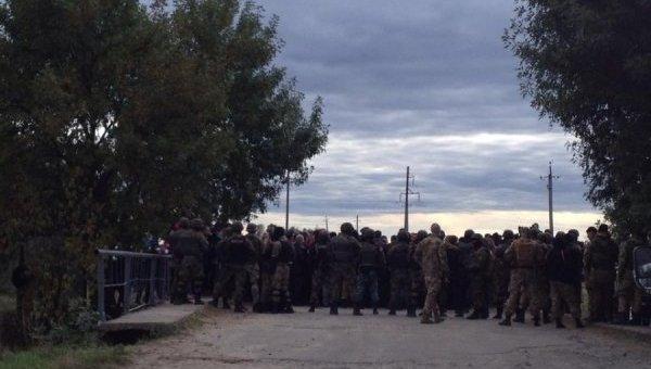 На месте столкновений в Маневинском районе Волынской области