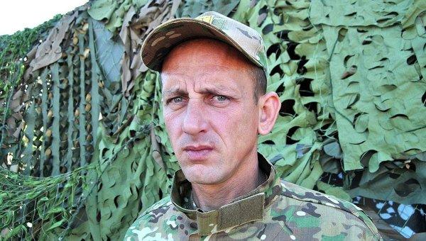Бывший пресс-офицер АТО Алексей Дмитрашковский