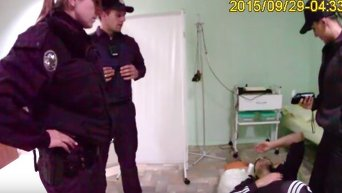 Задержание пасынка Фирташа Калиновского. Видео