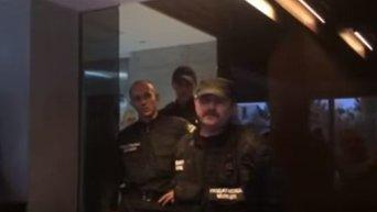 Обыск в Киевгазе. Видео