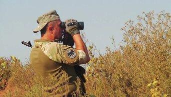 Позиции сил АТО на артемовском направлении