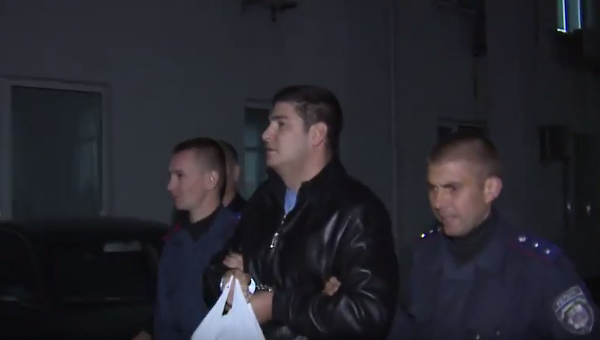 Задержание Сергея Калиновского