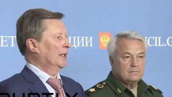 Глава Администрации Кремля Сергей Иванов об использовании российских войск зарубежом