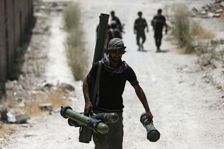 Сирийская армия и боевые действия в Сирии