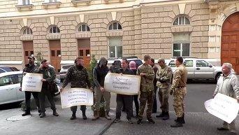Митинг Правого сектора в Одессе. Видео