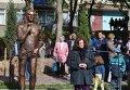 Памятник Кузьме Скрябину в Луцке