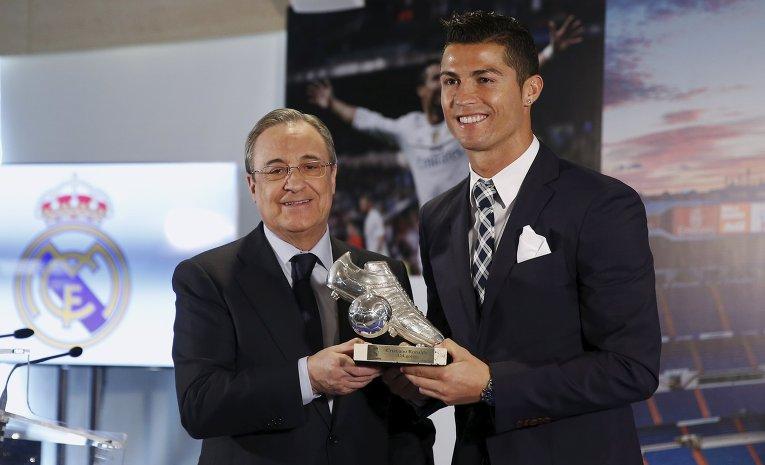 Криштиану Роналду - лучший бомбардир мадридского Реала в истории клуба. На его счету 243 забитых мяча.