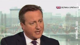 Кэмерон раскритиковал действия России в Сирии