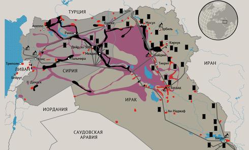 Исламское государство, одна из главных угроз мировой безопасности. Инфографика