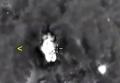 Нанесение авиаудара РФ по скоплению военной техники ИГИЛ. Видео