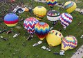 Международный фестиваль воздушных шаров Balloon Fiesta в Альбукерке, Нью-Мексико
