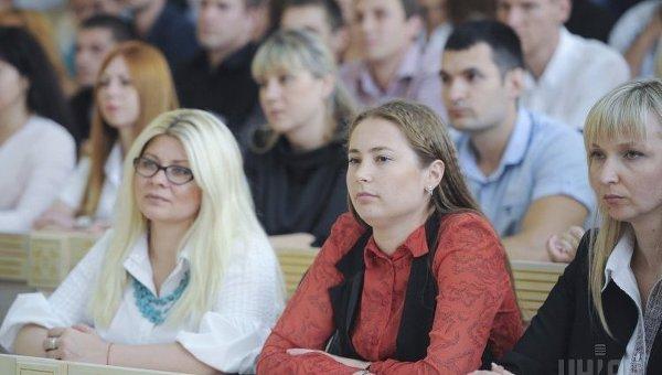 Студенты украинских вузов. Архивное фото