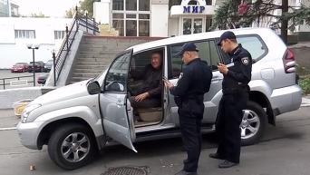 Задержание в Киеве пьяного кандидата в мэры Харькова. Видео