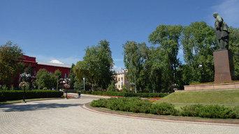 Здание Киевского государственного университета имени Т.Г. Шевченко