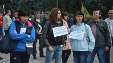 Финансовый Майдан протестует под Радой. Архивное фото