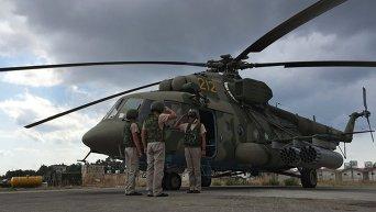 Россия задействует вертолеты в операции против ИГ в Сирии