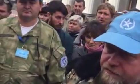 Боец АТО обвинил Рубана в сговоре с Захарченко. Видео