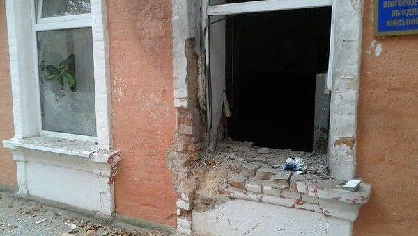 Взрыв произошел ночью у здания военкомата в Одесской области
