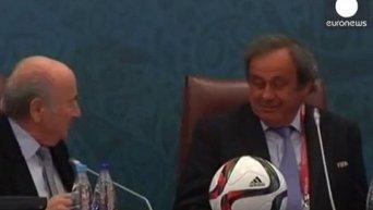 Йозефа Блаттера и Мишеля Платини отстранили на 90 дней