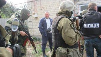 Обыски в домах активистов Правого сектора и Самообороны в Павлограде. Видео