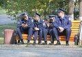 Милиционеры в Киеве