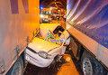 Массовое столкновение машина в тоннеле в Болгарии