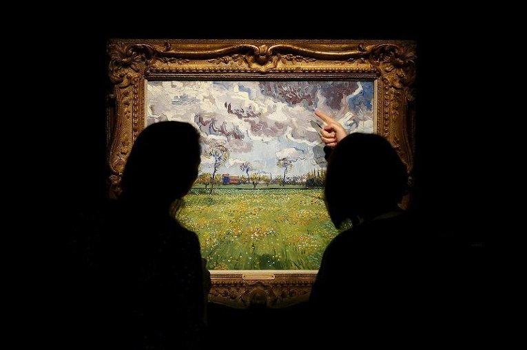 Картина Винсента Ван Гога Пейзаж под грозовым небом, выставленная на аукцион Sotheby's в Лондоне